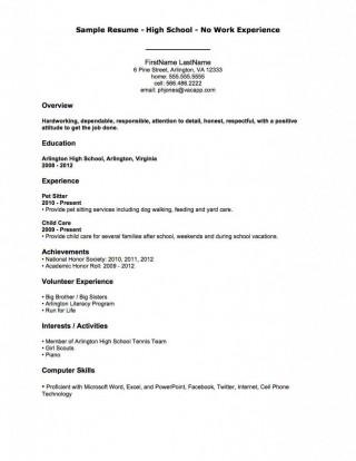 004 Fantastic Resume Template For Teen Image  Teenager First Job Australia320