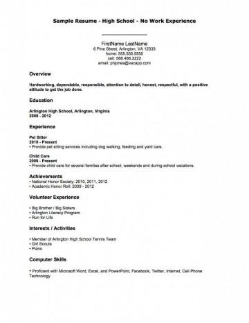 004 Fantastic Resume Template For Teen Image  Teenager First Job Australia360