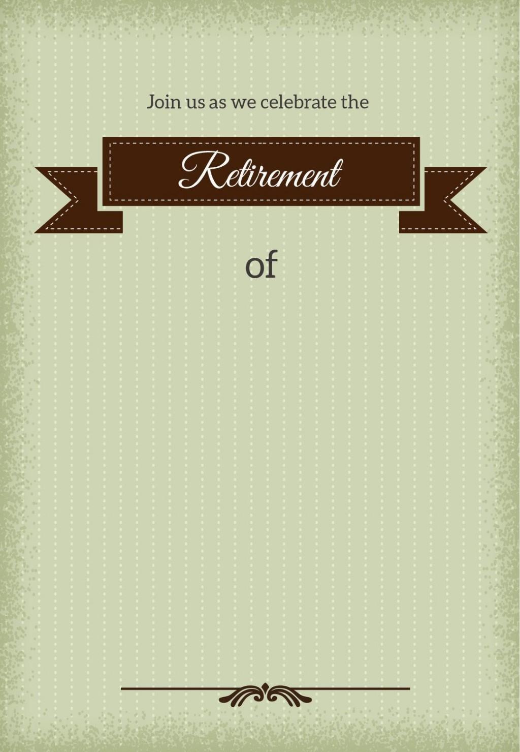 004 Fantastic Retirement Party Invitation Template Free Highest Quality  M WordLarge