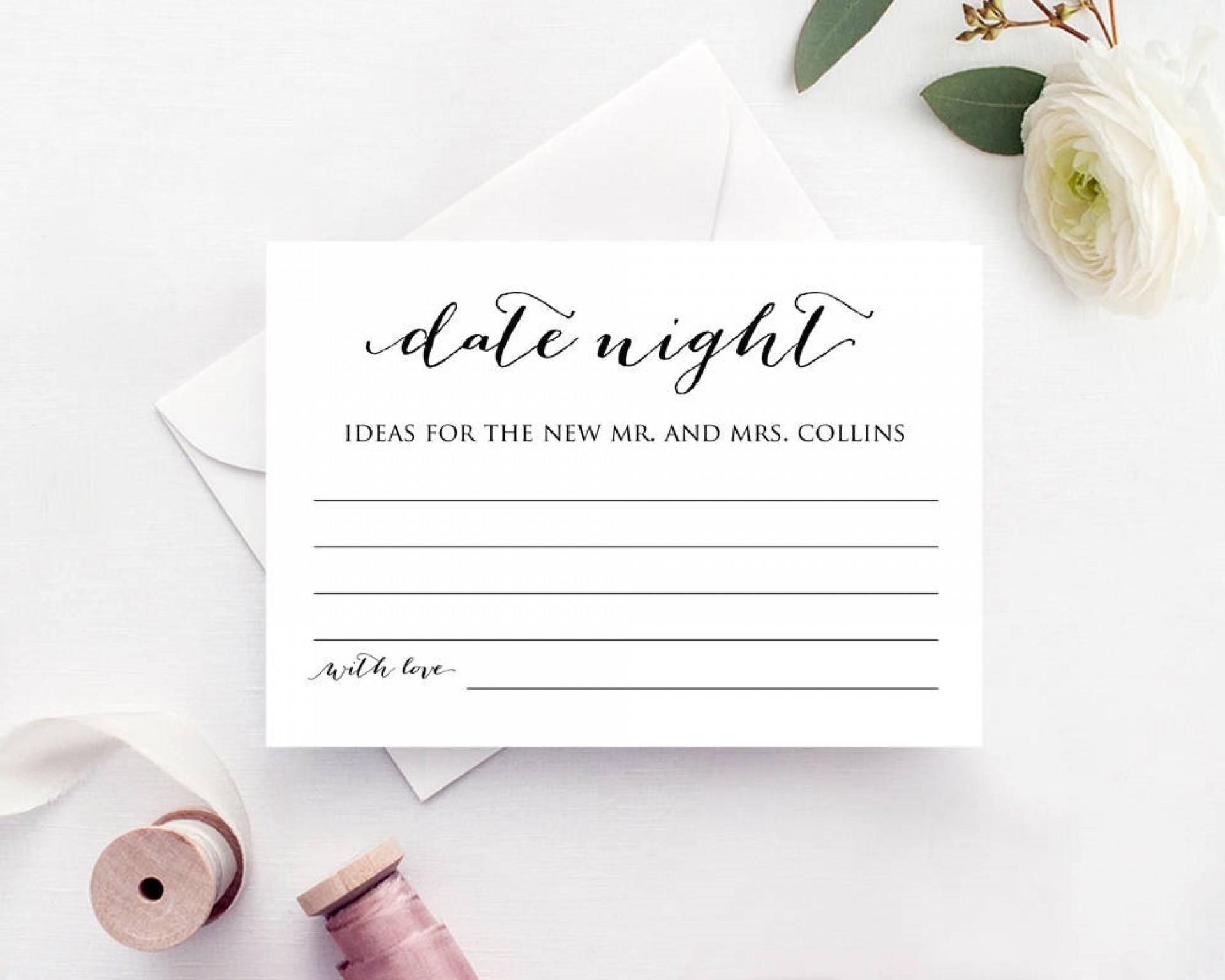 004 Fascinating Bridal Shower Card Template High Definition  Invitation Free Download Bingo1920