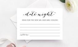 004 Fascinating Bridal Shower Card Template High Definition  Invitation Free Download Bingo