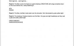 004 Fascinating Comic Book Script Sample Idea  Marvel Celtx