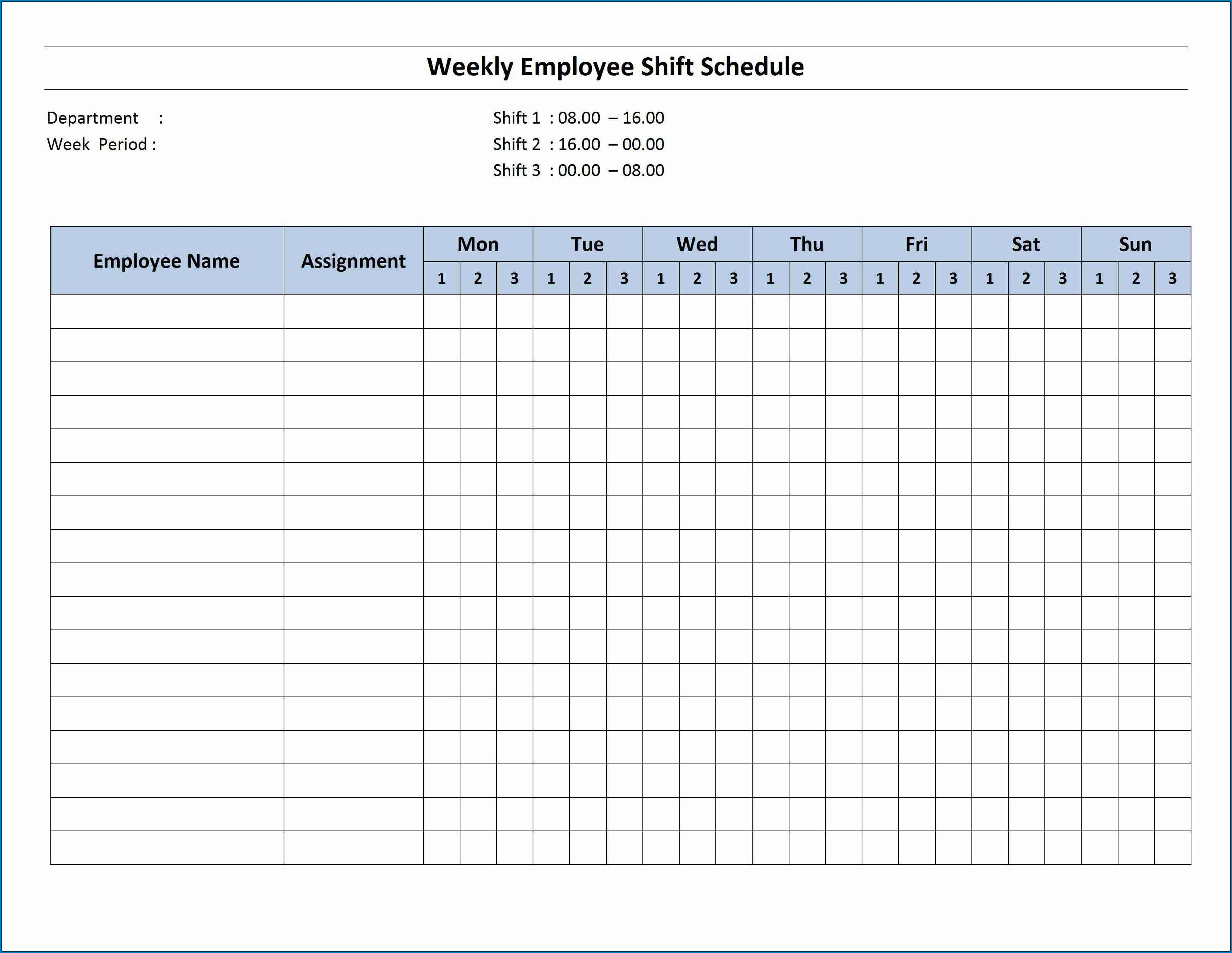 004 Fascinating Free Excel Monthly Employee Schedule Template High Def  DownloadFull