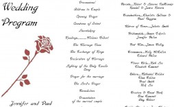 004 Fascinating Free Wedding Ceremony Program Template Concept  Catholic Download