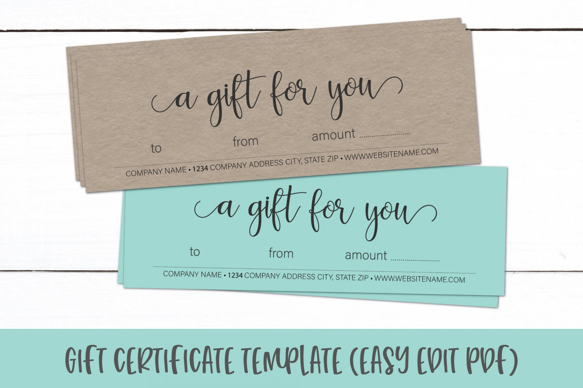 004 Fascinating Gift Certificate Template Pdf Picture  Massage Christma Printable1920