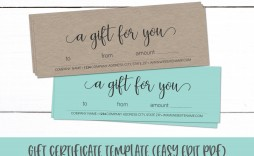 004 Fascinating Gift Certificate Template Pdf Picture  Massage Christma Printable