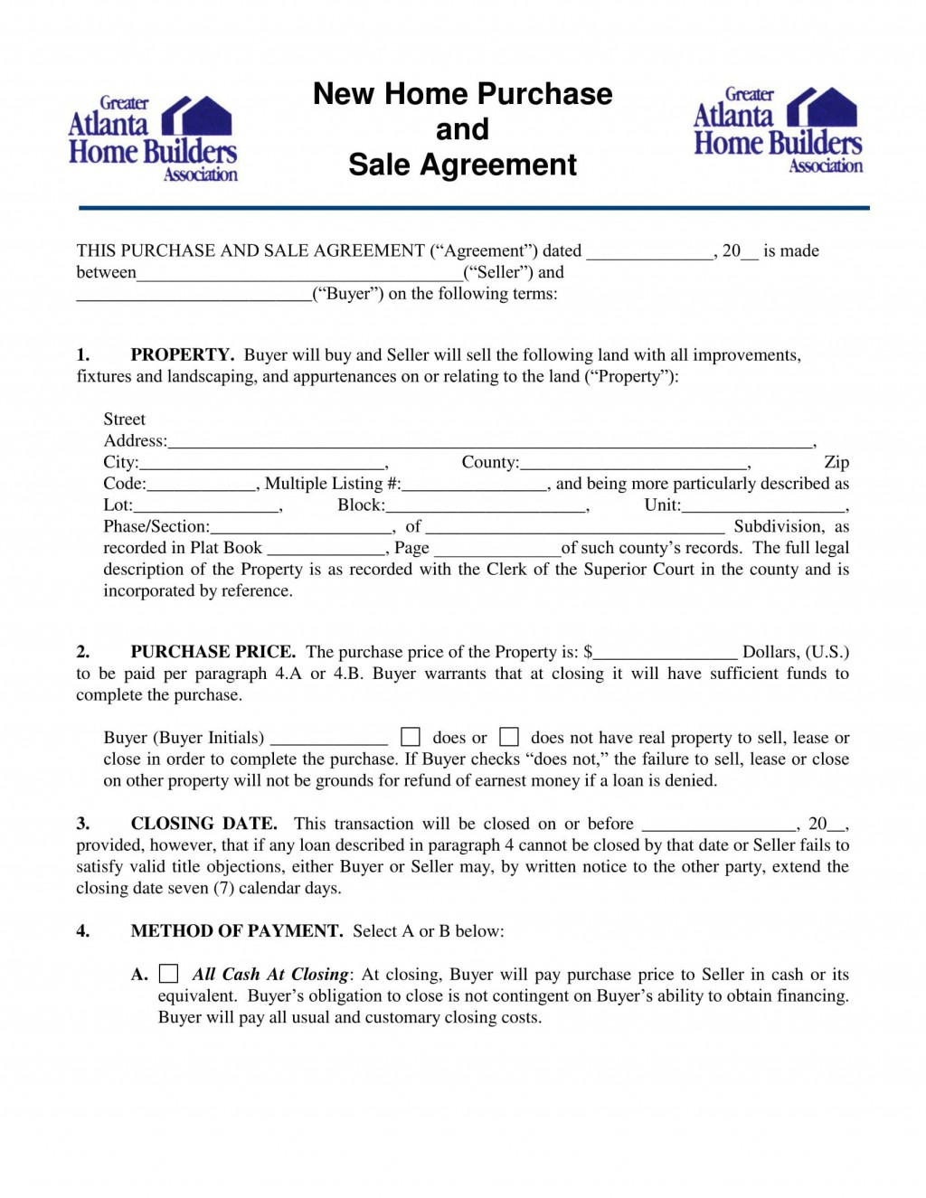 004 Fascinating Home Purchase Contract Form Sample  Virginia Lease ToLarge