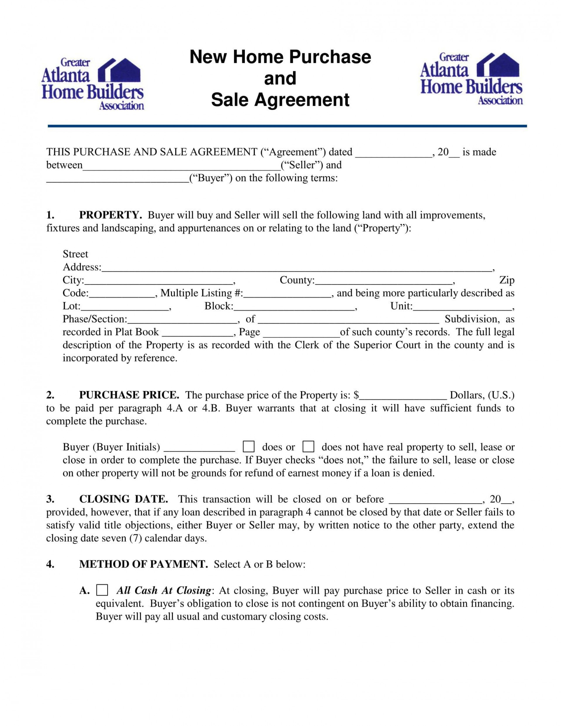 004 Fascinating Home Purchase Contract Form Sample  Virginia Lease To1920