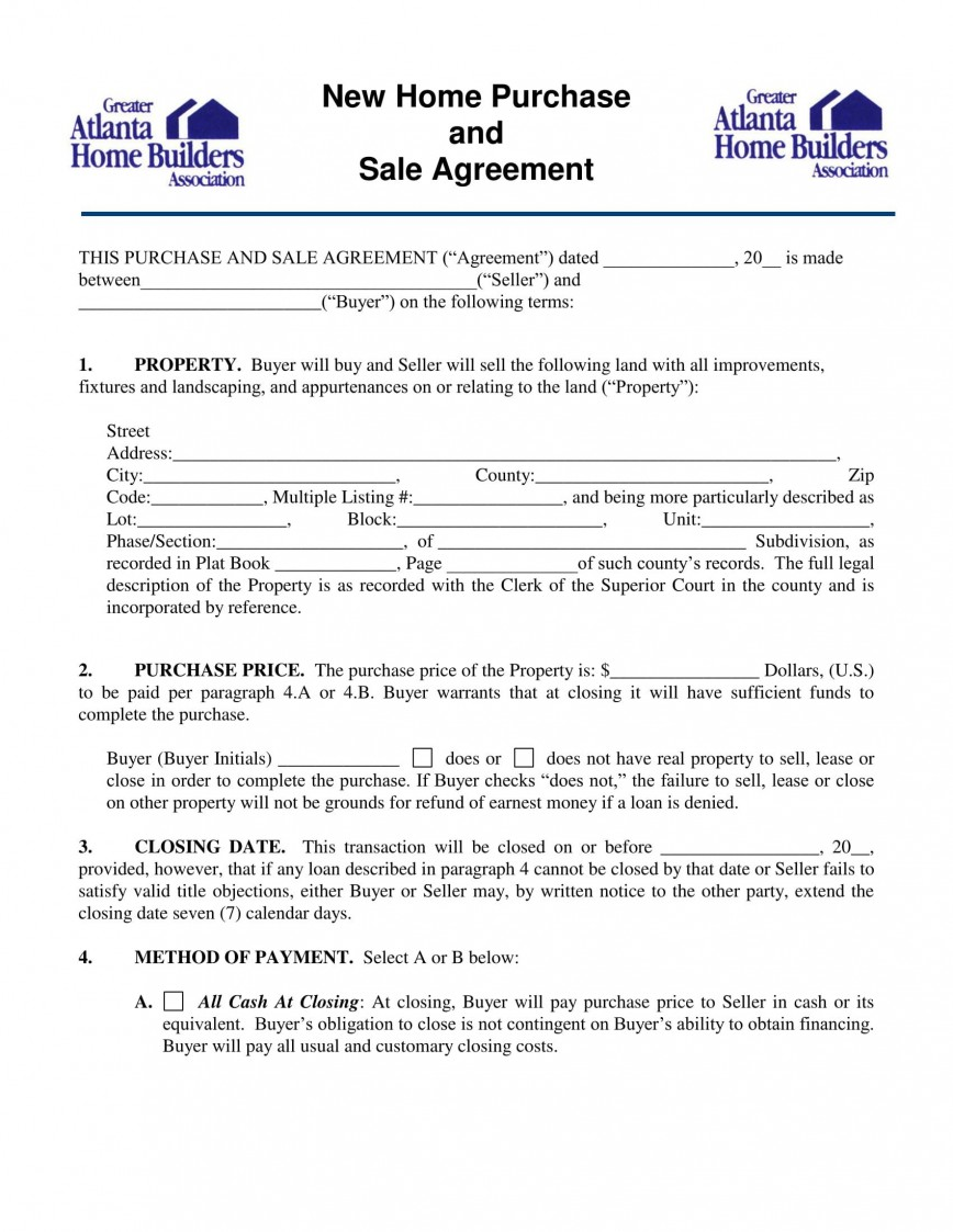 004 Fascinating Home Purchase Contract Form Sample  Lease To Virginia