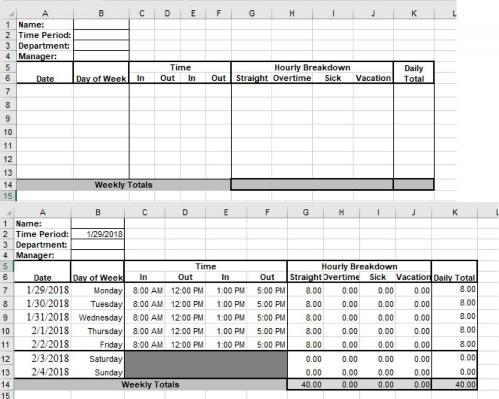 004 Fascinating Microsoft Acces Employee Time Card Template Highest Quality 1920