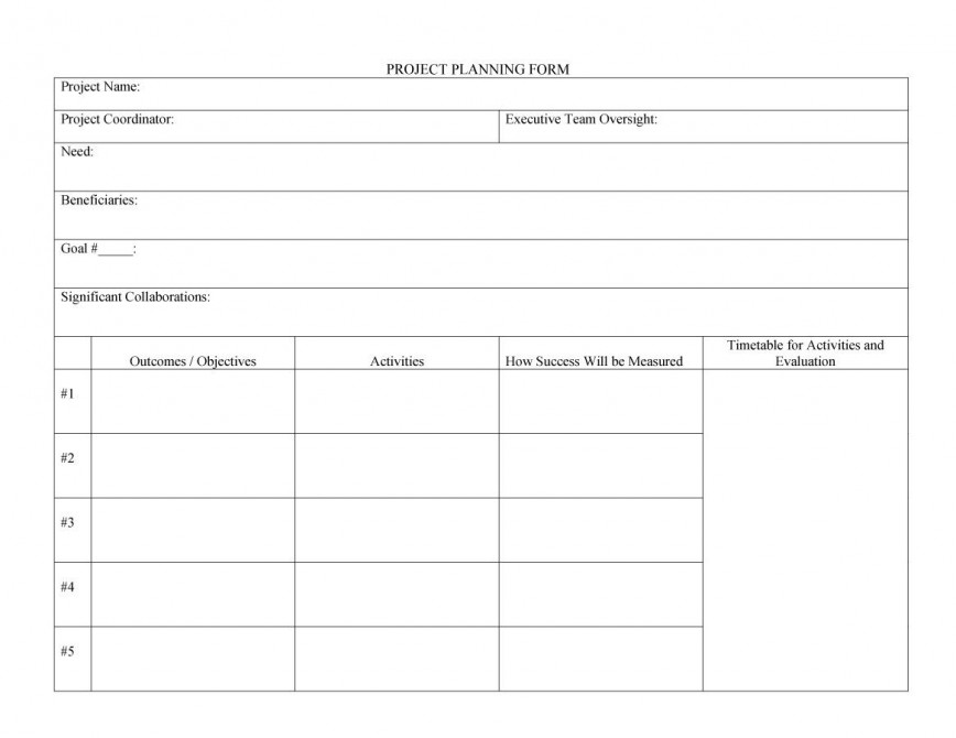 004 Fascinating Project Plan Template Word Concept  Management Example Sample