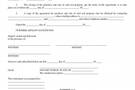 004 Fascinating Property Purchase Agreement Template Free Image  Mobile Home