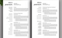 004 Fascinating Resume Template Free Word Example  Download Document 2020 For Fresher