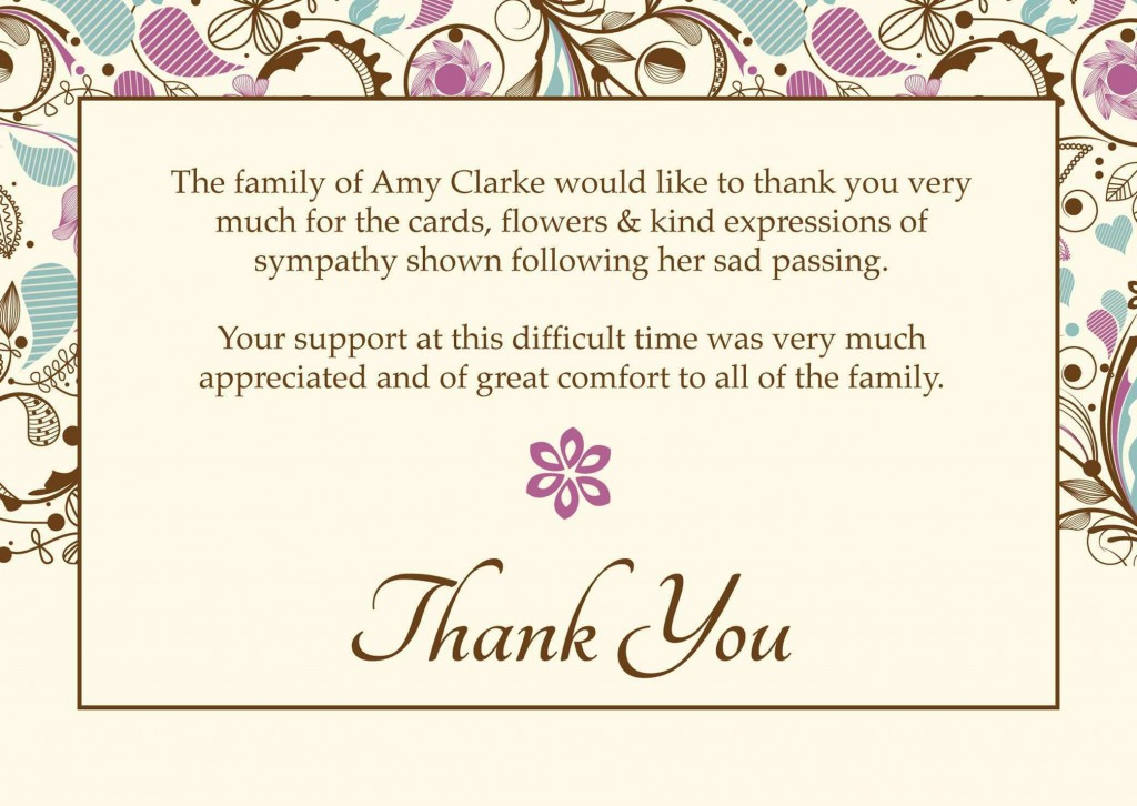 004 Fascinating Thank You Note Template Microsoft Word Picture  Card Free Funeral LetterLarge