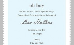 004 Fearsome Baby Shower Invitation Wording Example Photo  Examples Invite Coed Idea For Boy