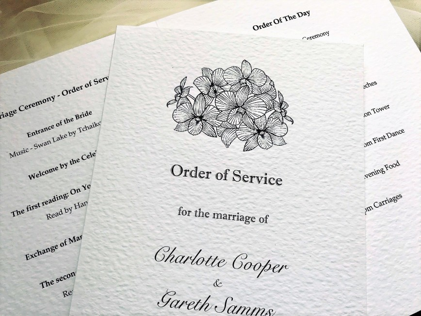 004 Fearsome Church Wedding Order Of Service Template Uk High Def