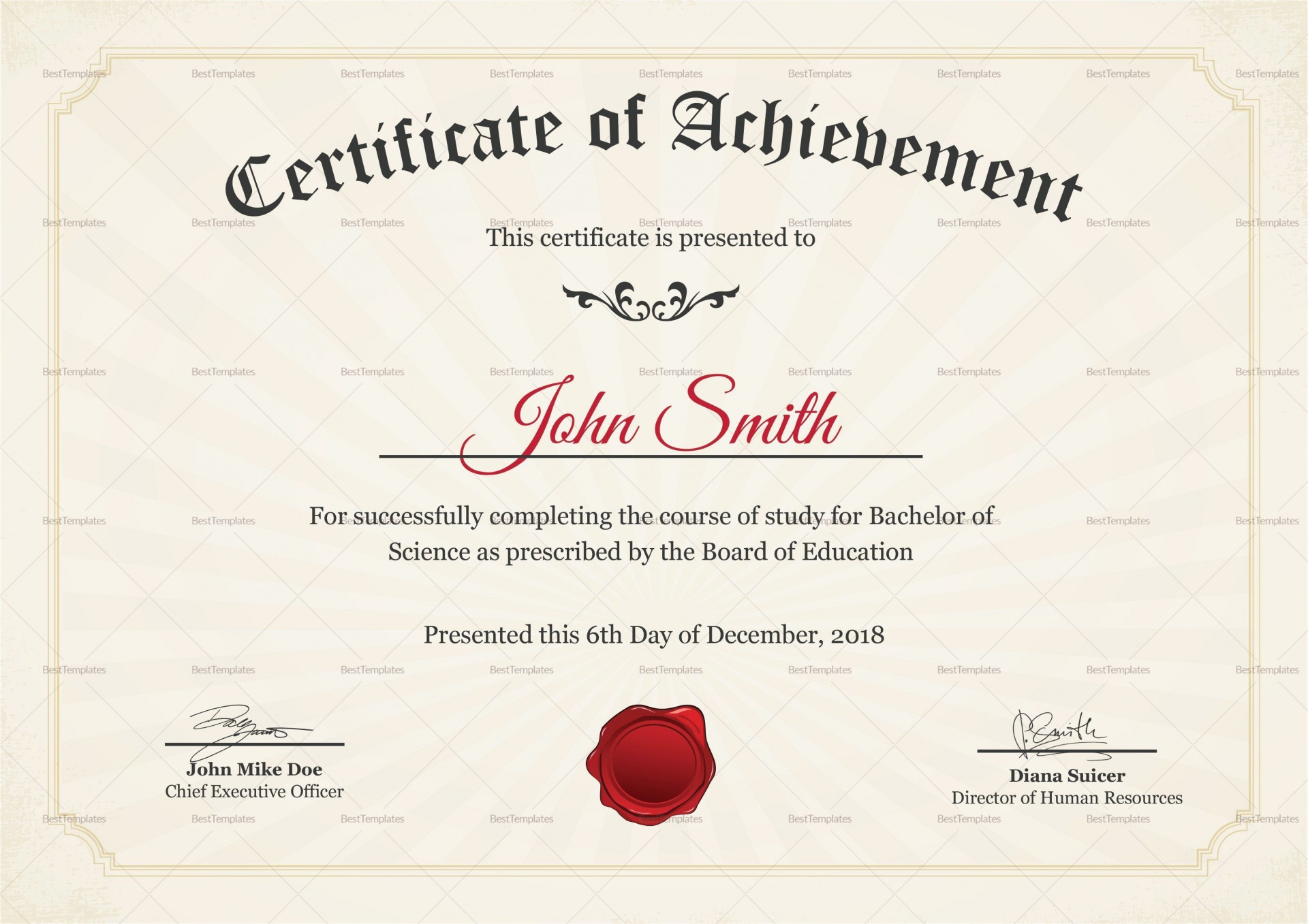 004 Fearsome Degree Certificate Template Word High Def 1920