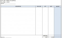 004 Fearsome Excel Invoice Template Gst Free Download Picture