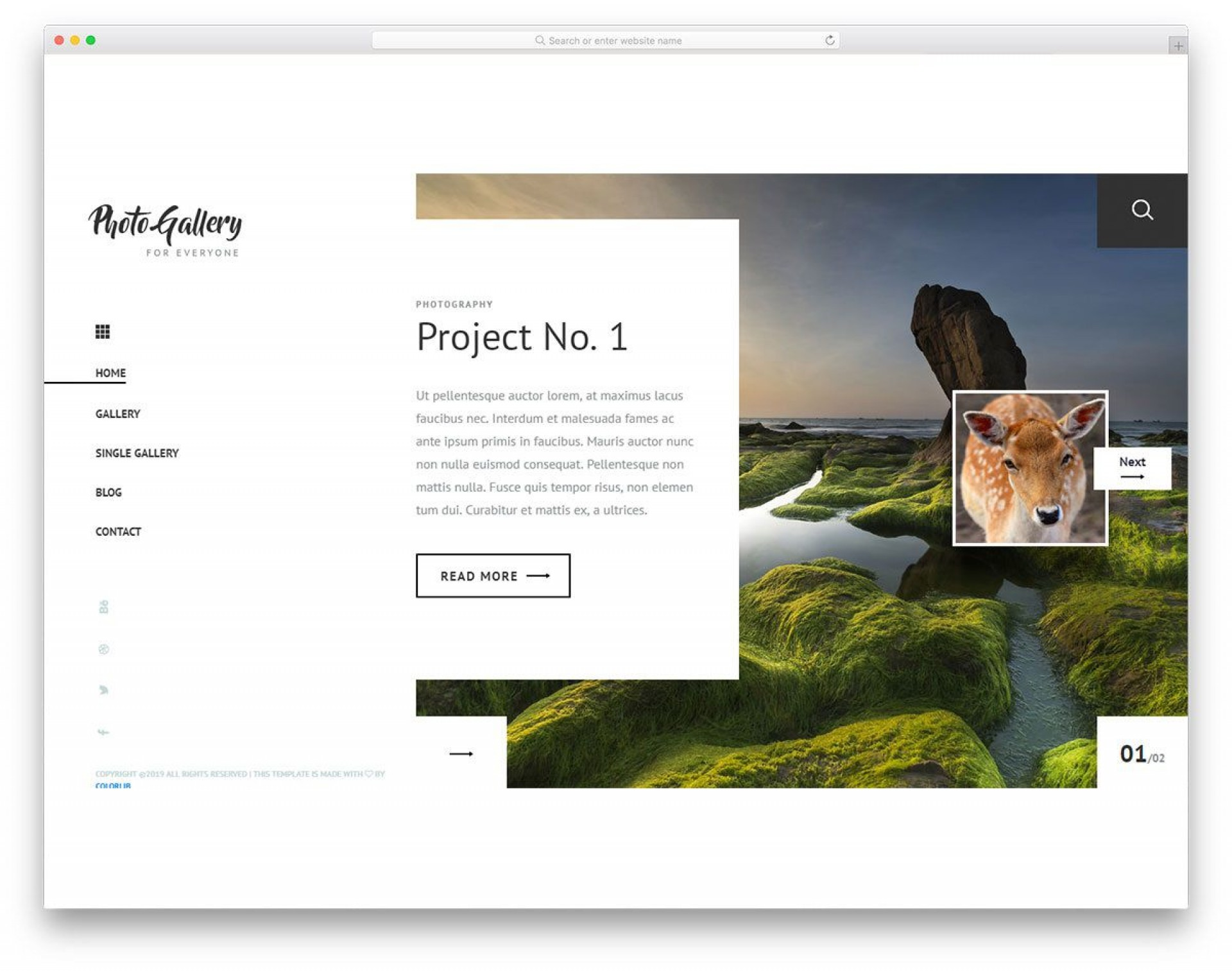 004 Fearsome Free Cs Professional Website Template Download Image  Html With Jquery1920