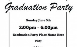 004 Fearsome Free Graduation Invitation Template Printable Concept  Party Card High School