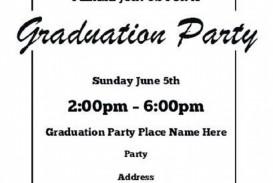 004 Fearsome Free Graduation Invitation Template Printable Concept  Kindergarten Party Card