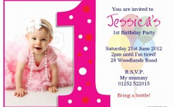 004 Fearsome Free Online 1st Birthday Invitation Card Maker For Twin Sample  Twins