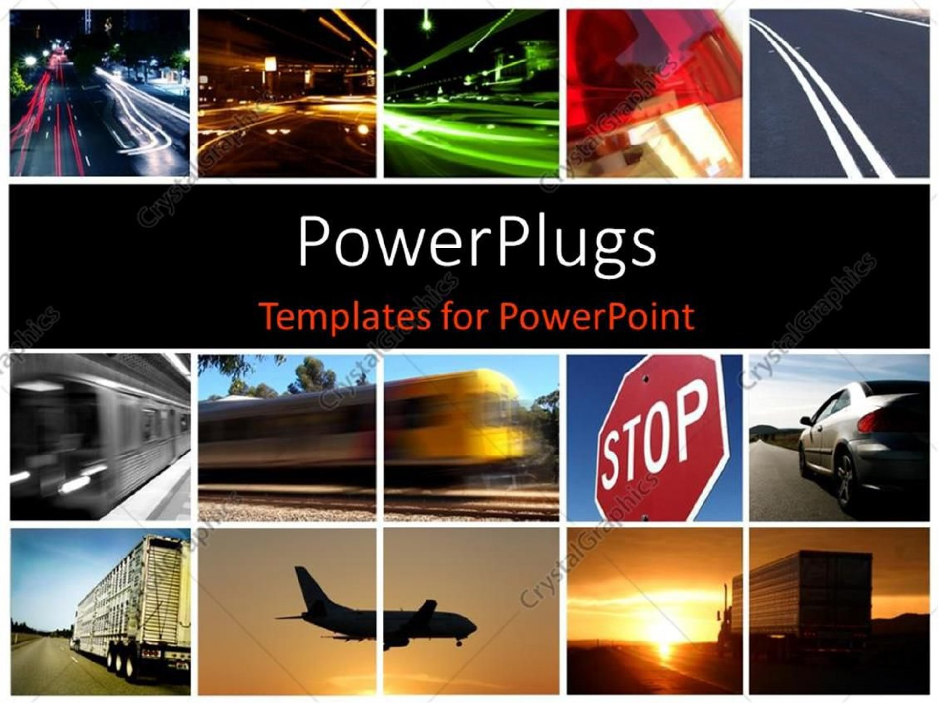 004 Fearsome Free Photo Collage Template For Powerpoint Highest Quality 1920