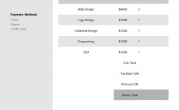 004 Fearsome Freelance Graphic Designer Invoice Sample High Def