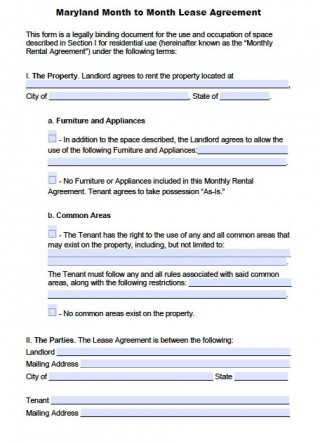 004 Fearsome Generic Rental Lease Agreement Md Picture  Sample Maryland320