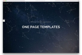 004 Fearsome One Page Website Template Html5 Free Download Picture  Parallax