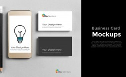 004 Fearsome Powerpoint Busines Card Template Photo  Digital Ppt Free Download