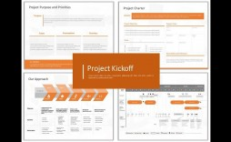 004 Fearsome Project Team Kickoff Meeting Agenda Template Picture