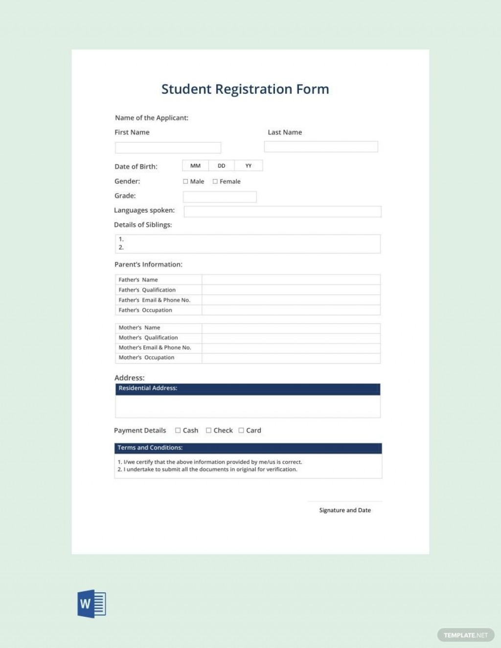004 Fearsome Registration Form Template Free Download Highest Quality  Bootstrap Student W3layout In PhpLarge