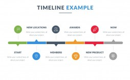 004 Fearsome Timeline Example Presentation Idea  Project Slide Template