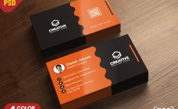 004 Formidable Busines Card Template Psd Design  Professional Photographer Freebie Visiting File Free Download
