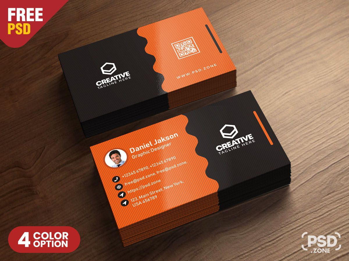 004 Formidable Busines Card Template Psd Design  Professional Photographer Freebie Visiting File Free DownloadFull