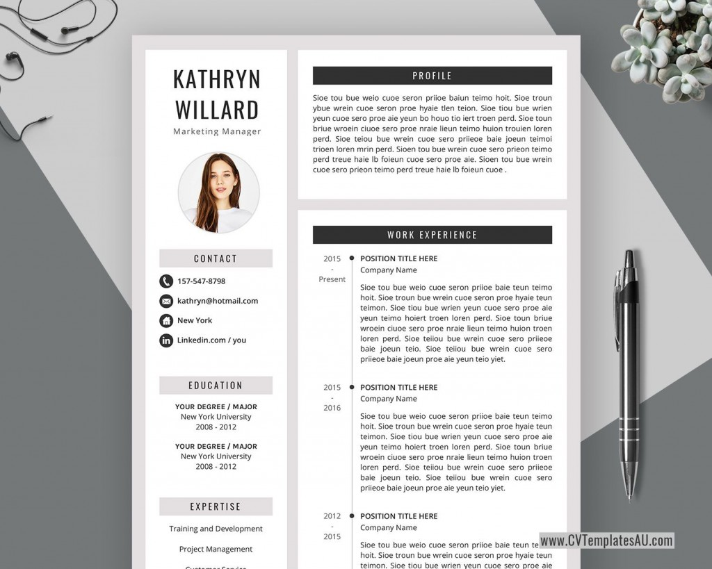 004 Formidable Curriculum Vitae Word Template Concept  Templates Download M 2019 Cv FreeLarge