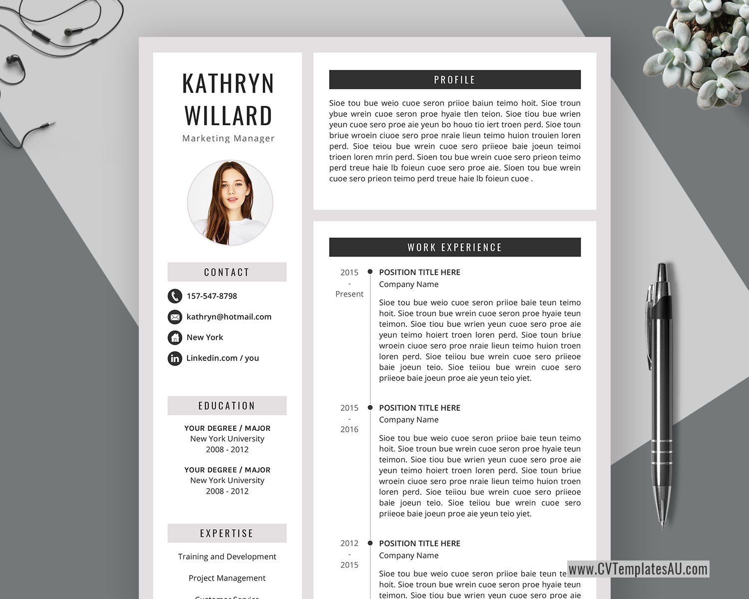 004 Formidable Curriculum Vitae Word Template Concept  Templates Download M 2019 Cv FreeFull