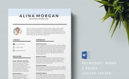 004 Formidable Download Free Resume Template Word 2018 Design