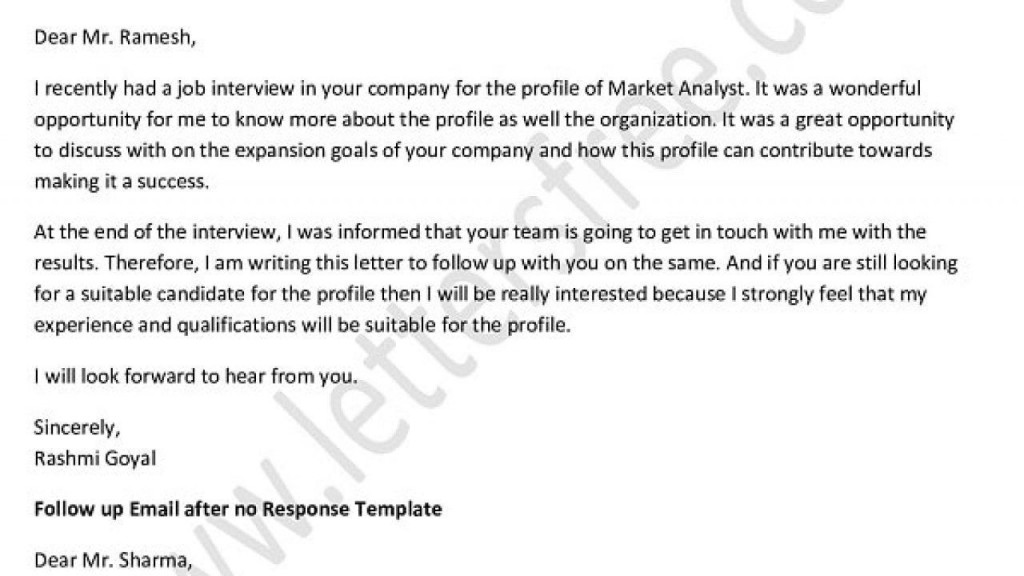 004 Formidable Follow Up Email Sample After No Response Template High Definition Large