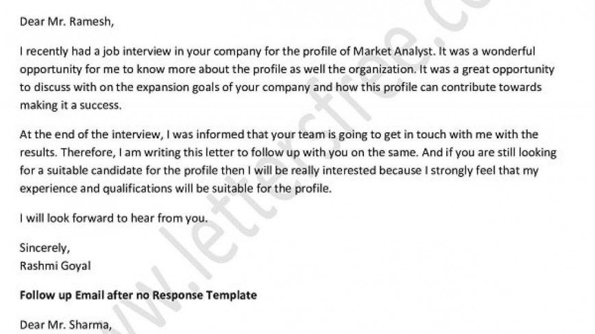 004 Formidable Follow Up Email Sample After No Response Template High Definition