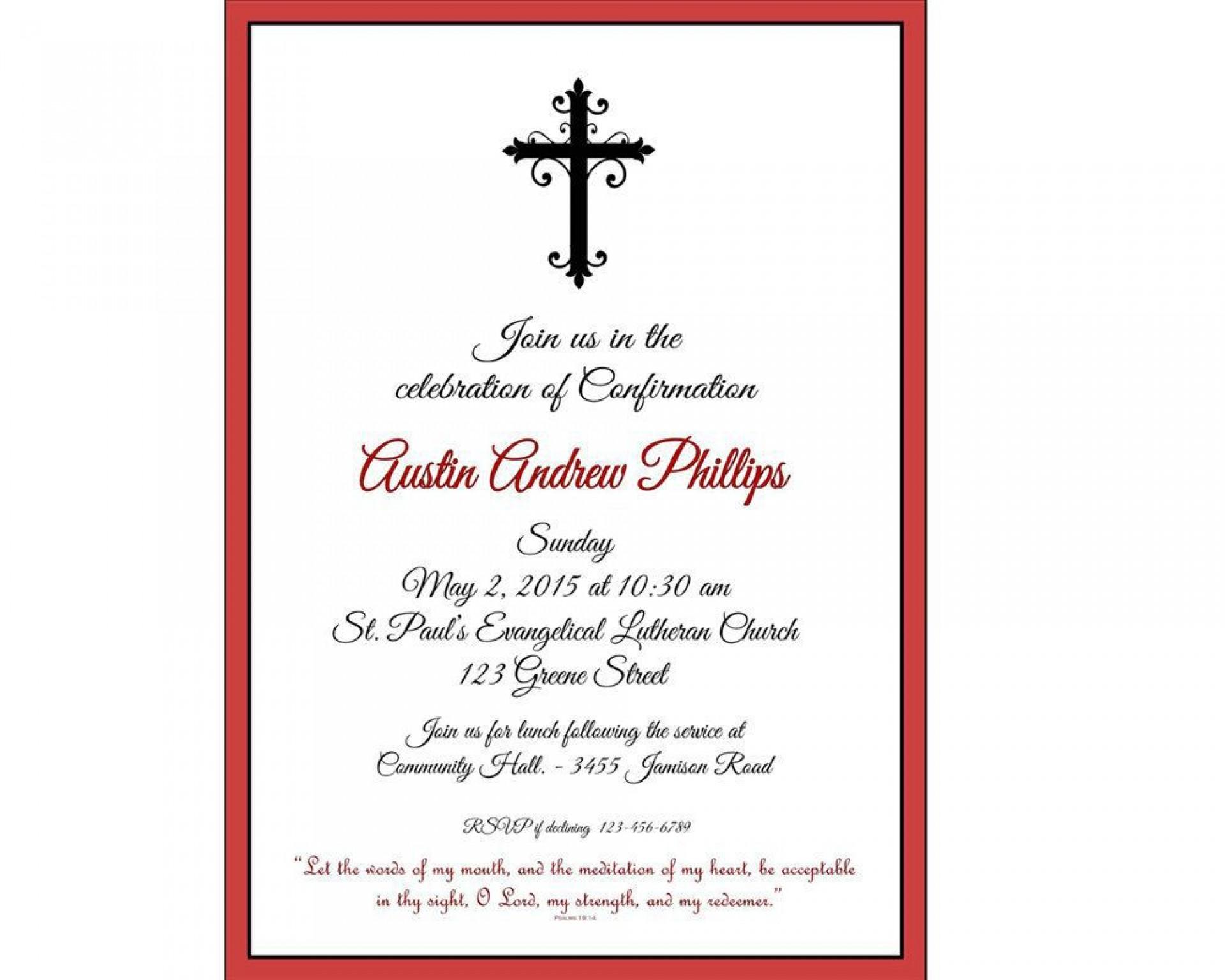 004 Formidable Free Religiou Invitation Template Printable Inspiration 1920
