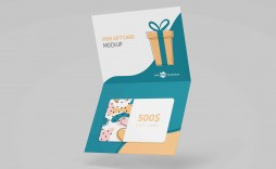 004 Formidable Gift Card Template Psd High Def  Christma Photoshop Free Holder