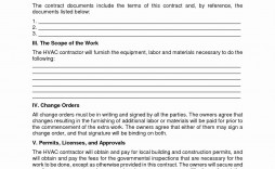 004 Formidable Hvac Service Agreement Template High Def  Contract Form Maintenance Pdf