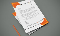 004 Formidable Letterhead Template Free Download Psd High Resolution  A4 Company