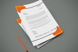 004 Formidable Letterhead Template Free Download Psd High Resolution  Corporate A4