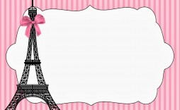 004 Formidable Pari Birthday Invitation Template Free Highest Clarity