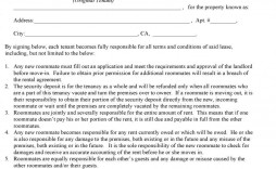 004 Formidable Rental Agreement Contract Free Download Design  Tenancy Form Uk House Equipment