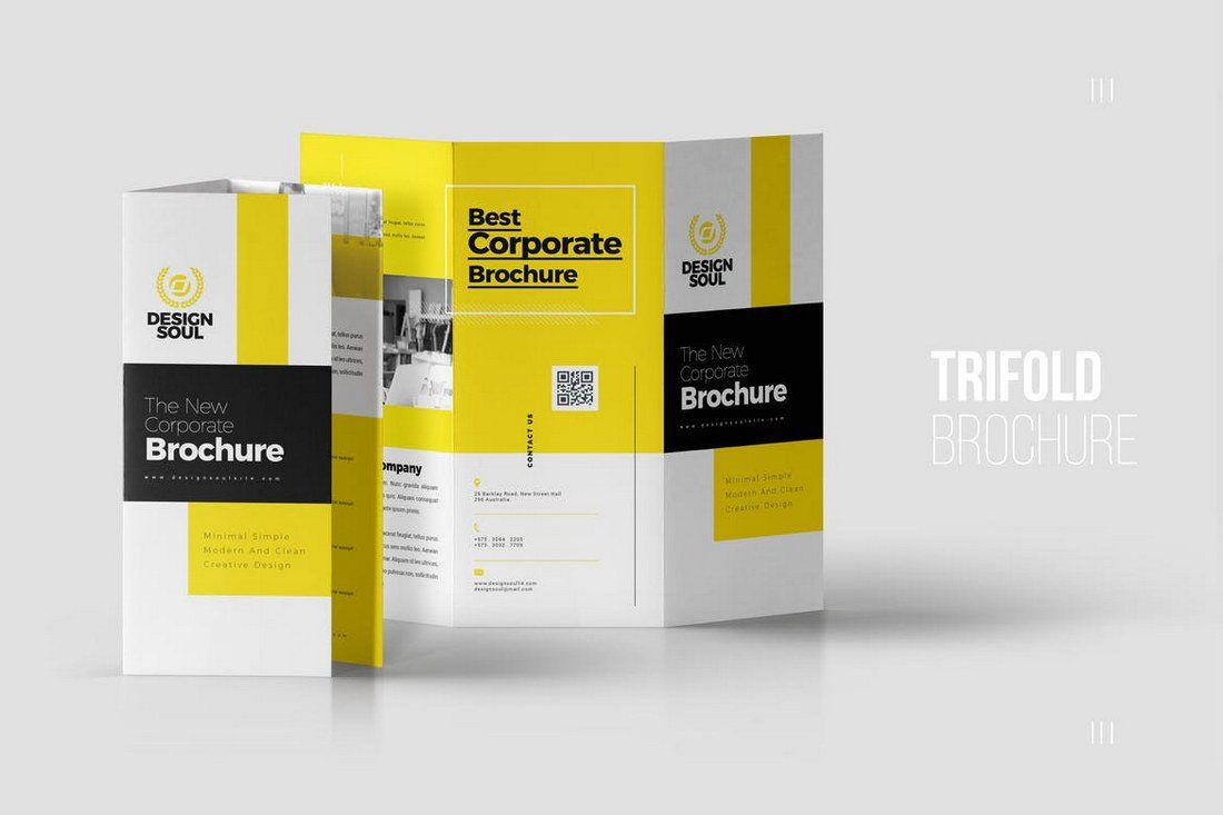 004 Formidable Three Fold Brochure Template Indesign Highest Clarity  3 A4Full