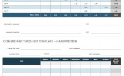 004 Frightening Billable Hour Template Excel Free Sample